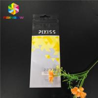 Quality Matte Custom Printed Plastic Pouches Packaging Mylar Ziplock Bags Heat Seal for sale