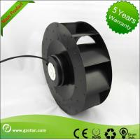 Quality Low Noise Brushless Motor EC Centrifugal Fans With Speed Control 250mm for sale