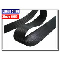 China Polyester Lashing Webbing Black Webbing Straps 6600# BS 300 Foot Roll wholesale