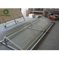 Buy cheap No Penetration Rooftop Ballasted Solar Racking Systems Withstand Strong Wind from wholesalers