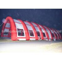 China Outdoor 40x20m Red Archway Inflatable Sport Air Tent with CE Blowers wholesale