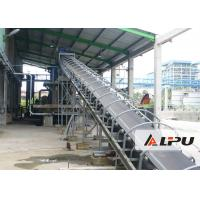 China Long Distance Rubber Belt Mining Conveyor Systems in Stone Crushing Plant on sale