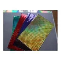 Buy cheap Plastic Holographic Hot Stamping Foil Lamination Film MSDS Certicated from wholesalers