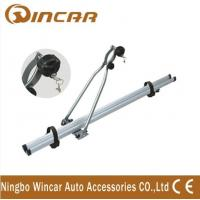 China 4wd automobile upright Aluminium roof bike carrier for locking up 1 bicycle wholesale