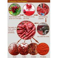 Buy cheap Safe and Clean 5*5mm,6*6mm,9*9mm Hot Air Dried Red Chill Pepper from wholesalers