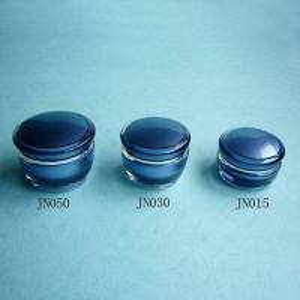 China Special Mushroom Shaped Acrylic Cream Jar wholesale