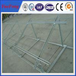 China Solar panel mounting rail aluminium profile, China Aluminium Profiles exporter wholesale