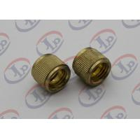 China Lathe Turning Precision Machined Parts , Hollow Brass Injection Plastic Nuts wholesale