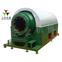 Buy cheap Biomass Sawdust Rotary Charcoal Carbonization Machine 9m3 from wholesalers