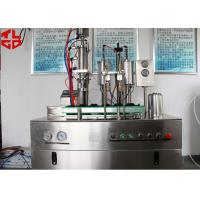 Buy cheap Bag On Valve Aerosol Can Filling Equipment For Avene Evian Cosmetic Spray from wholesalers