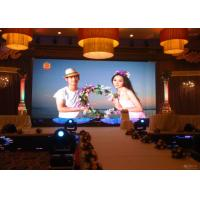 China RGB Die Casting P2.5 HD Led Display Indoor For Stage Background , 2 Years Warranty wholesale