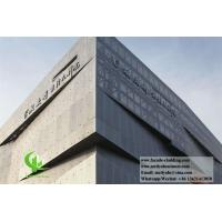 Buy cheap Architectural facade Aluminium wall cladding powder coated exterior use from wholesalers