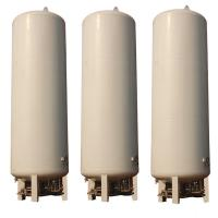 China 30,000L CO2 Tank, Vertical Low Temperature CO2 Tank with White Color on sale