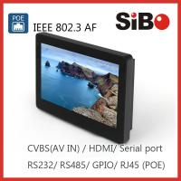 China SIBO Enhanced POE Touch Screen Panel PC on sale