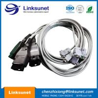 China D - Sub DB9 Female To OBD - II Male Wire Harness Assembly 1.8M / 3M / 5M PUR wholesale