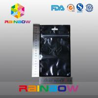 China Customized Blank Anti Static Bag / Noni  Ziplock Bag Cell Phone Packaging Bag wholesale