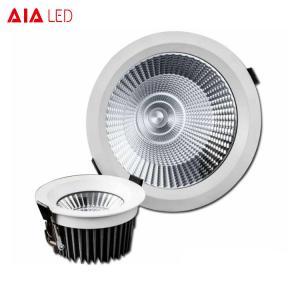 China ip65 recessed downlight aluminum COB ip65 downlight for hotel bathroom wholesale