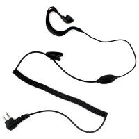 China 2 PIN PTT MIC Earhook Headphone for Motorola Radio GP2000 GP68 GP88 PRO3150 PRO1150 on sale
