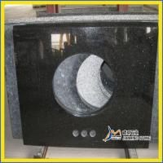 China Black Galaxy Granite Vanity Top wholesale
