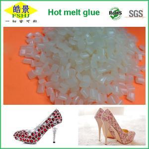 China Transparent EVA Hot Melt Adhesive For Shoes Sealing High Adhesive Strengh wholesale