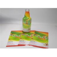 Quality Adhesive Waterproof PET/PVC shrink labels /3d Holographic Sticker/label roll for sale