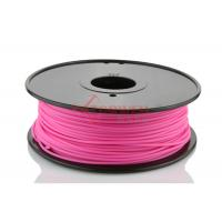 China 3mm 1.75mm 3D Printer ABS Filament for 3D Printer Pink , RoHs SGS wholesale