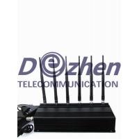 Buy cheap 6 Antenna Cell phone & RF Jammer (315MHz/433MHz) from wholesalers