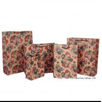 China Die Cut Shopping Wrapping Paper Bag Recyclable Customized Logo Offset Printing wholesale