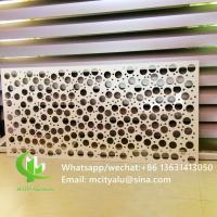 China Interior Exterior    Round Hole Perforated Sheet  Garden Coutry Yard Decoration wholesale