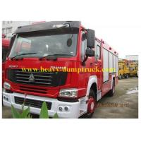 China Famous brand HOWO forest fire fighting truck 4X2 Fire Escape Truck with warranty wholesale