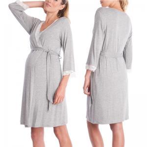 China Cute Printing Comfortable Womens Maternity Dresses Plus Size Maternity Wear wholesale