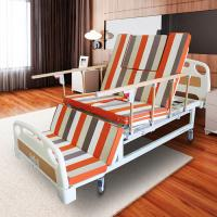 China Handicapped Manual Adjustable Bed With Toilet Multi Functions MD-E23 wholesale