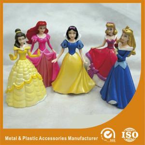 China Princess Fashion Doll Plastic Toy Figures Making 4 Inch Fashion Dolls Custom wholesale