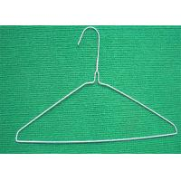 Buy cheap 18'' 14.G Mild Steel Metal Wire Hanger For Dry Cleaner Cloths Hanger from wholesalers