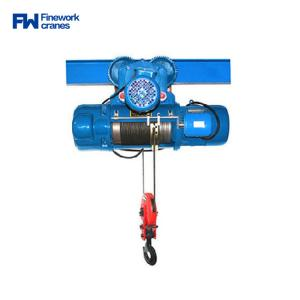 China Finework CD1 Single Speed Electric Wire Rope Hoist 500kg on sale