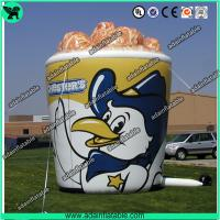 China Oxford Cloth Outdoor Giant Inflatable Cup Model With Print For Chicken Promotional wholesale