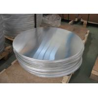China 1070 1000 Series Thin Aluminum Sheet Circle Smooth For Cooking Tray Dish Bowl wholesale