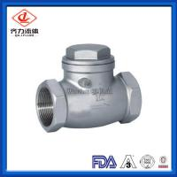 China Handwheel  Swing Female Check Valve Ddcv Double Lobe Easy To Operate on sale