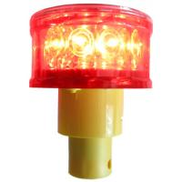 China High bright solar flash light for traffic cone wholesale