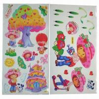 China Wall Stickers/Decals, Customized Sizes/Designs/OEM/ODM Orders are Welcome, Eco-friendly wholesale