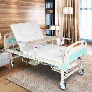 China Four Cranks Adjustable Hospital Beds , Adults Adjustable Beds For Disabled wholesale