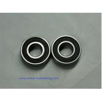 China Automobile Miniature Single Row Deep Groove Ball Bearing For Ceiling Fan 6203 Size wholesale