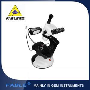 China Swing arm type Trinocular Microscope With F08 Trinocular lens wholesale