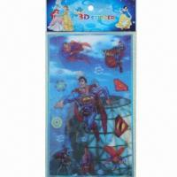 China Lenticular Stickers, Eco-friendly and Non-toxic, OEM and ODM Orders are Welcome wholesale