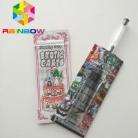 China Mini Mylar Ziplock Bags , Mylar Food Packaging Exotic Carts Vape Cartridge Holographic wholesale