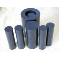 China 100mm Width Black Teflon Rods / PTFE Rod For Chemical , Self Lubricating wholesale