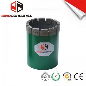 China NW HW Diamond Casing Shoe Diamond Core Bit , Durable Impregnated Diamond Core Drill Bit wholesale