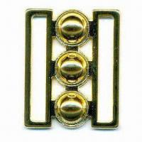 China Garment Buckle, Made of Metal Alloy and Lead-free Materials, Available in Different Styles wholesale