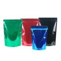 China Green Tea / Instant Coffee Packaging Bags , Coffee Pouch Bags Blue Green Black wholesale