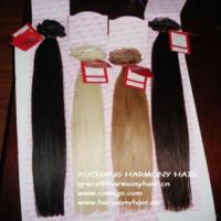 China Most Quality 18inch Straight Human Cheap Clip Hair Extension wholesale